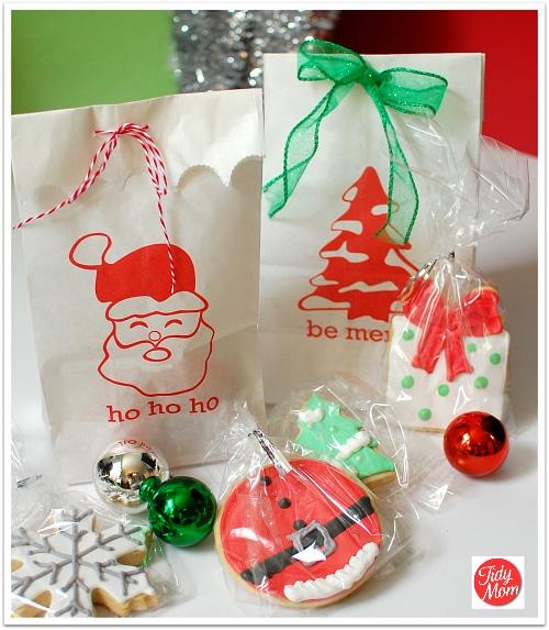 Free Printable Holiday Bags
