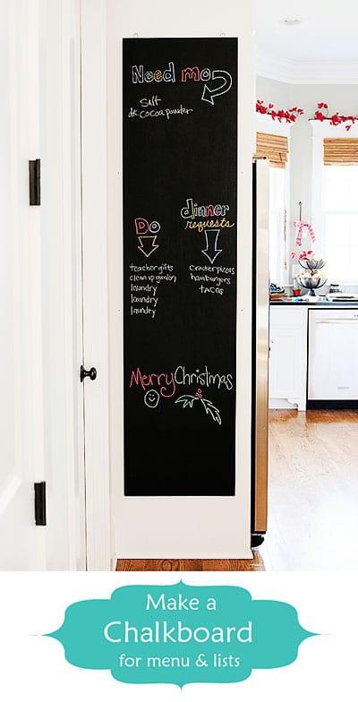 make a chalkboard