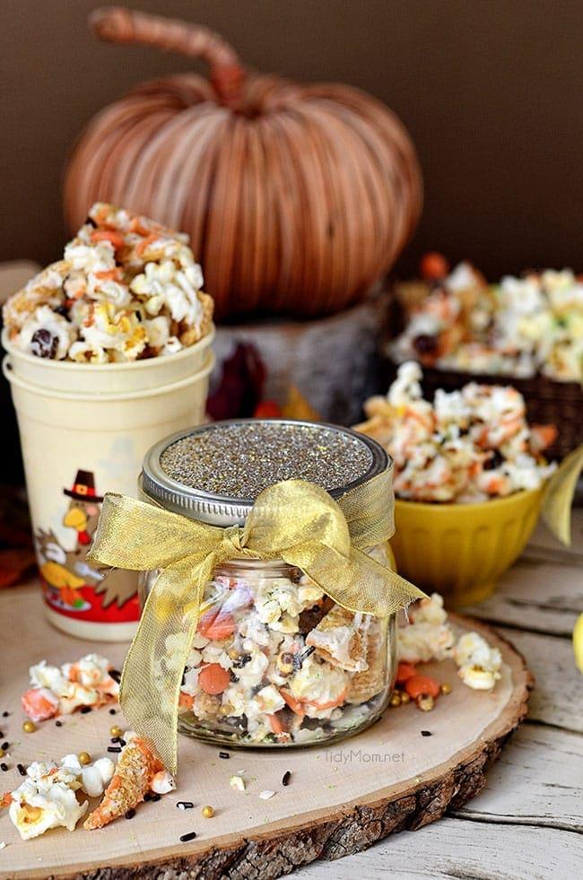 Popcorn Snack Mix Turkey Munch Tidymom