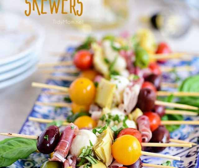 Wow Your Guests With Bright And Flavorful Antipasto Skewers An Easy Make Ahead Appetizer