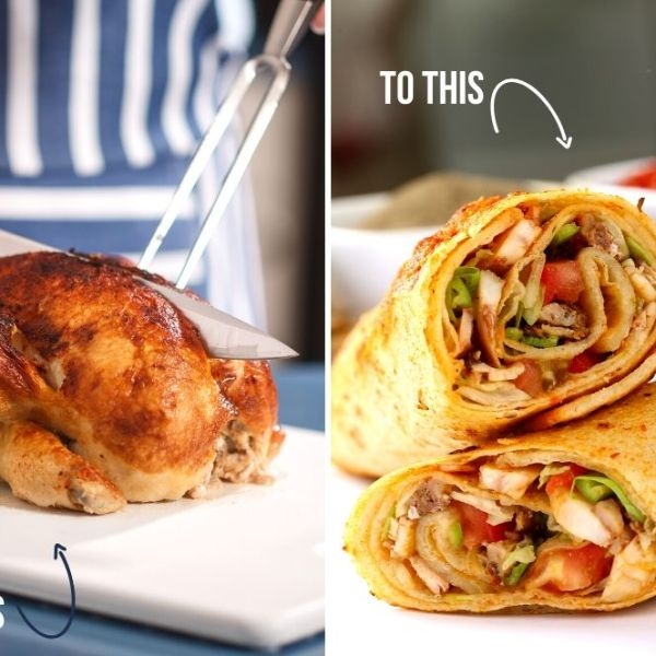 Easy Last-Minute Meals Using A $5 Rotisserie Chicken