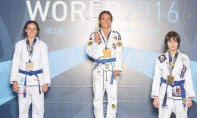Tiebreaker Times Ochoa bags gold in 2016 World Jiu-Jitsu Championships Brazilian Jiu Jitsu News  Meggie Ochoa Atos Jiu-Jitsu 2016 World Jiu-Jitsu Championships