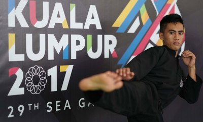 Tiebreaker Times Dines Dumaan hoping for more support for pencak silat 2017 SEA Games News  Dines Dumaan 2017 SEA Games - Pencak silat