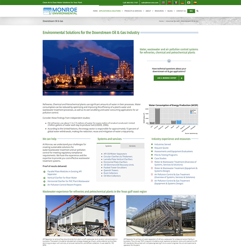 Industrial marketing consulting for the Oil & Gas industry