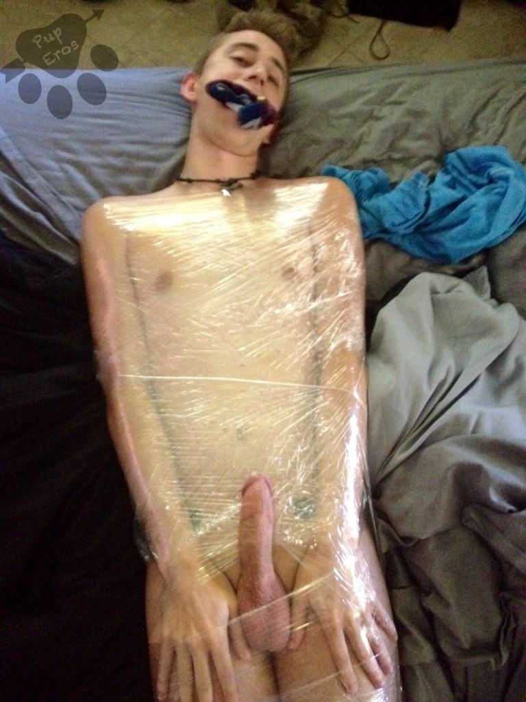 Saran Wrap Bondage