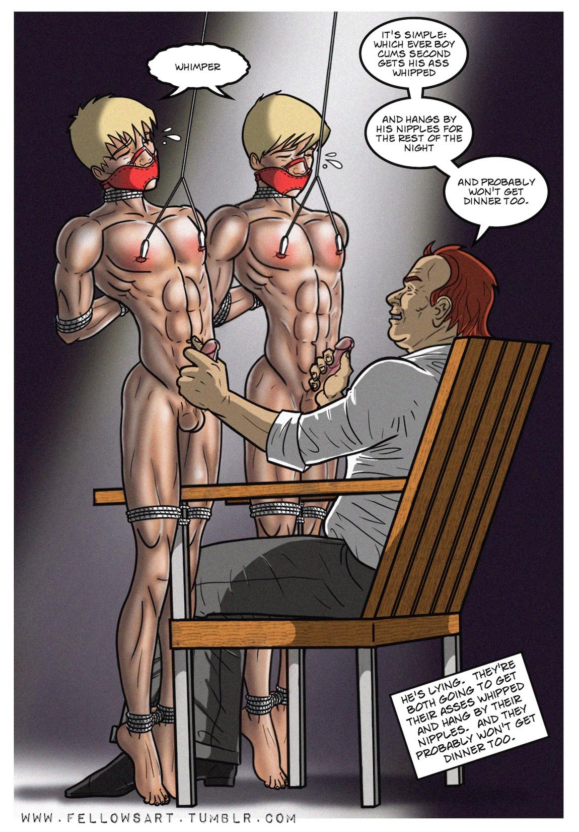 Gay anime drawings
