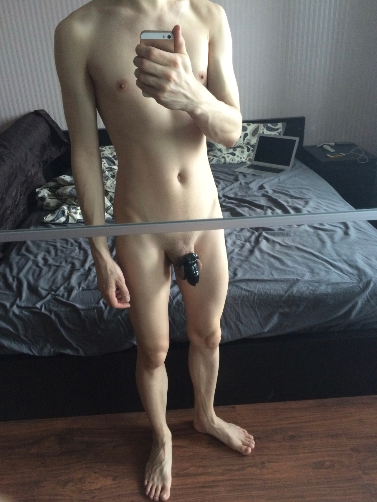 naked gay men in chastity