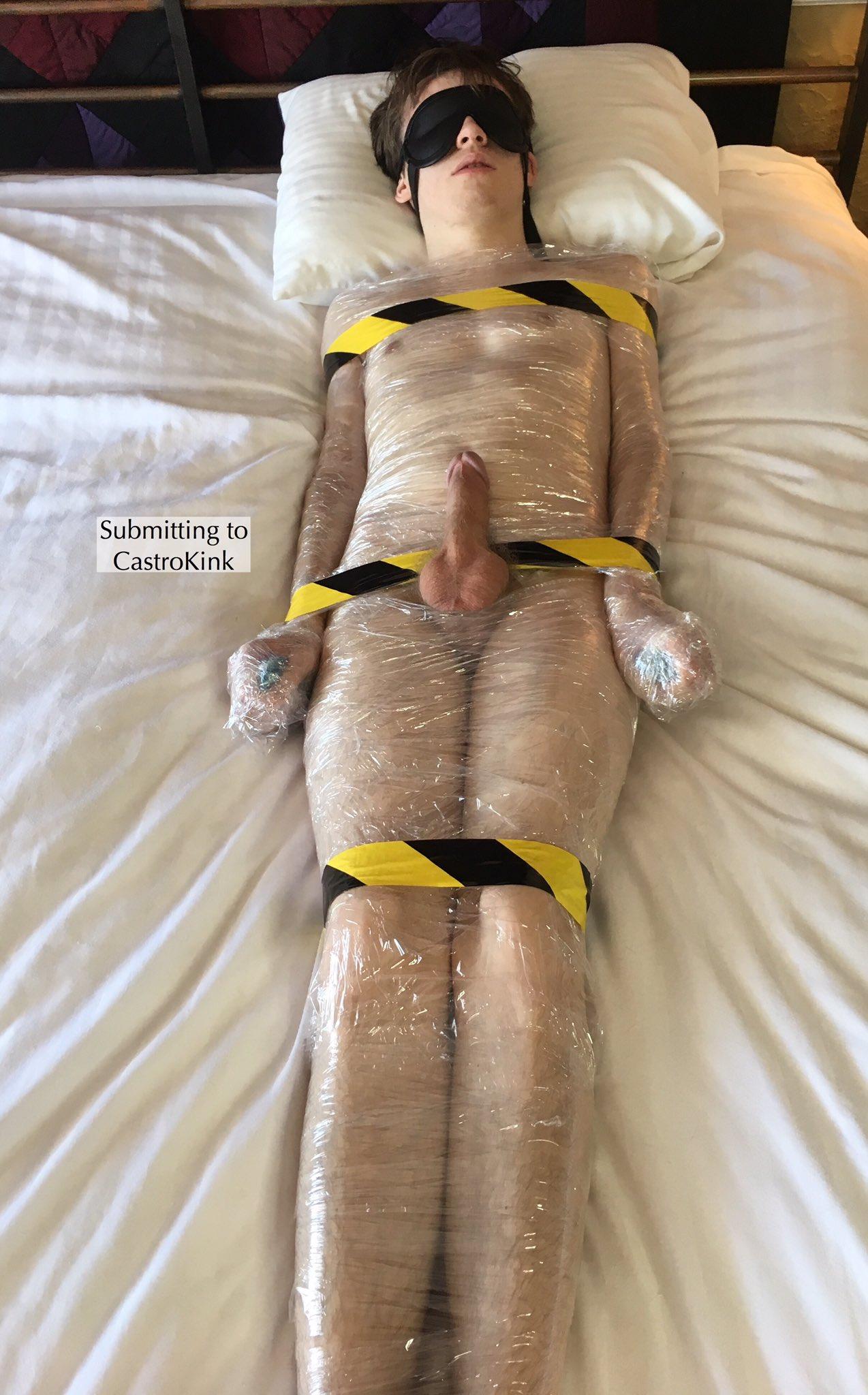 mummy tiedfeetguy