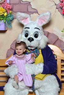 A visit with the Easter Bunny!