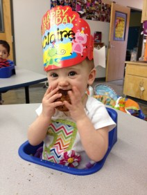 Birthday party at school!