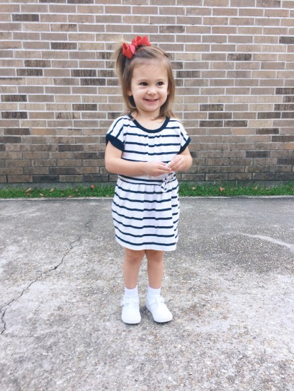 First Day of Preschool 1 :)