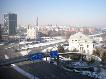 Blick vom Hotelfenster