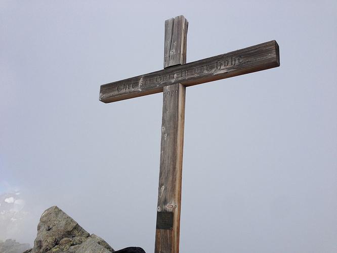 Gipfelkreuz Sparrhorn