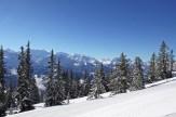 Winterlandschaft und tolles Panorama am Niederhorn