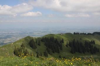 Aufstiegsgrat Le Cousimbert
