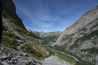 Das Tal von oben
