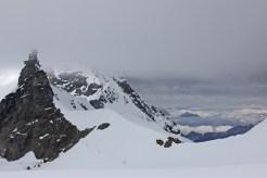 Blick zum Jungfraujoch
