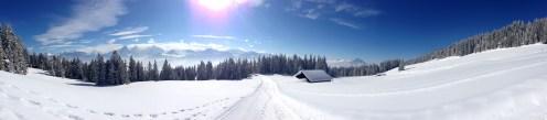 Auch bei Schnee ein lohnendes Ziel