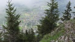 Tiefblick nach Interlaken