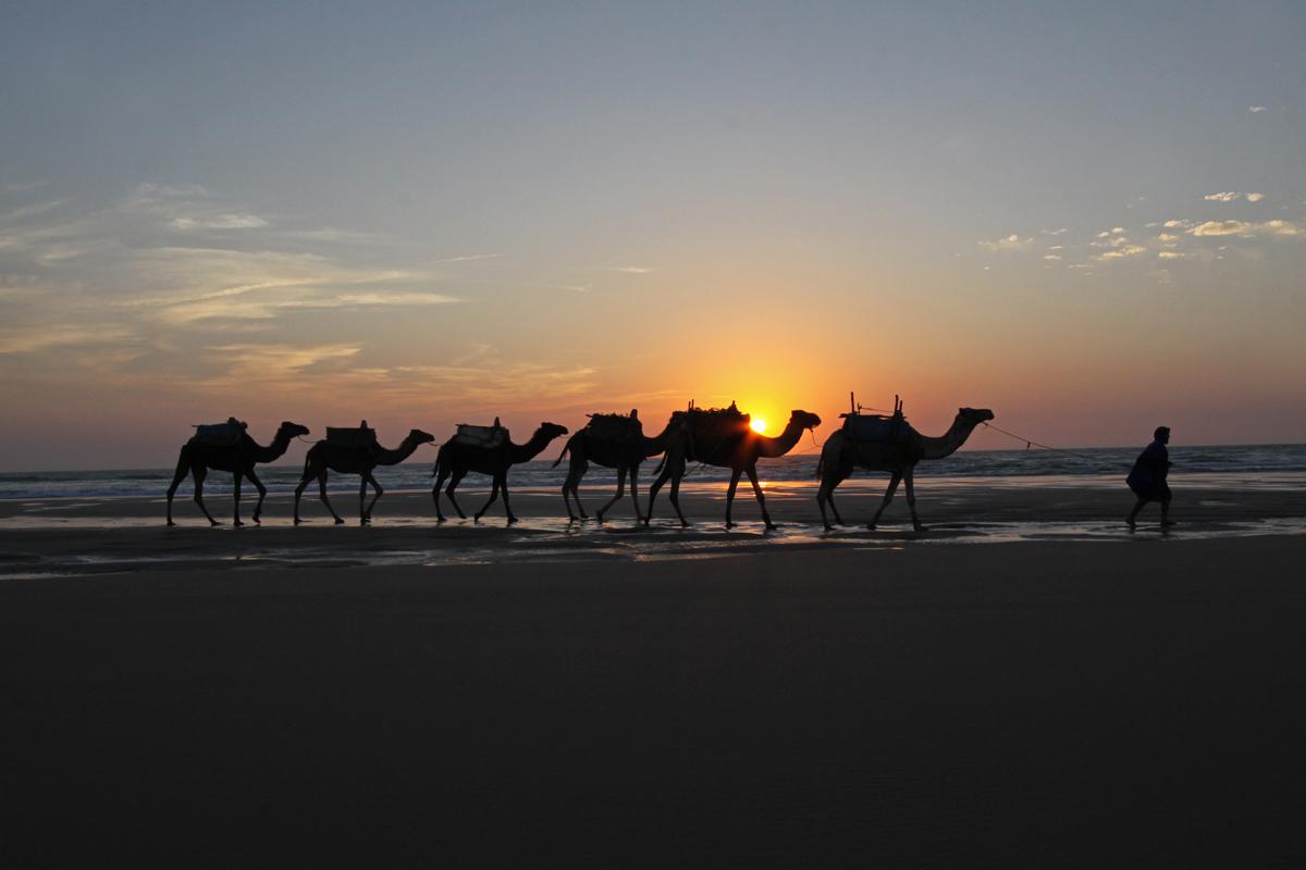 Sonneuntergang in Marokko