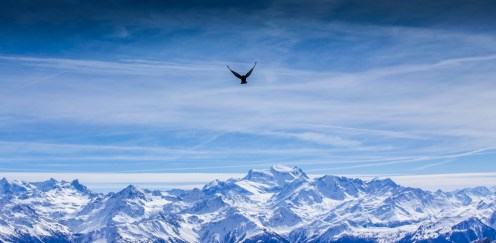 Dole über Walliser Alpen