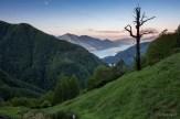 Morgenstimmung auf der Alpe Odro