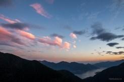 Abendstimmung auf der Alpe Odro