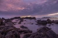 Sonnenuntergang in Ucluelet