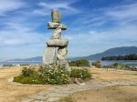 Inukshuk an der English Bay