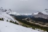 Icefield Parkway von oben