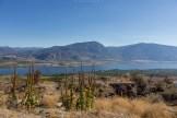 Aussicht auf den Lake Osoyoos gleich vor dem Spotted Lake