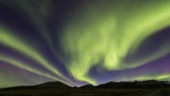 Nordlicht am Dempster Hwy, Kanada