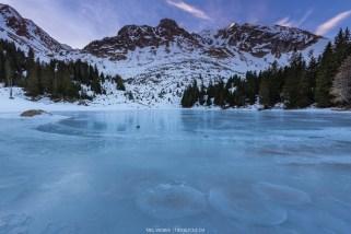 Im Dezember waren die meisten Seen im Berner Oberland gefroren
