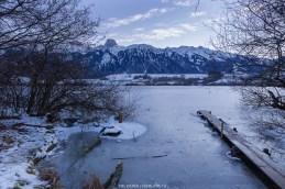 Ende Januar kam der Winter dann auch im Unterland an