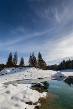 Winterlicher Caumasee
