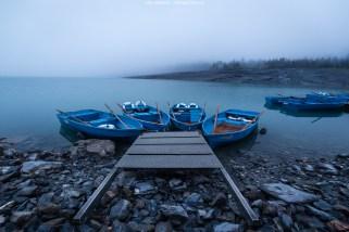 Nachtruhe bei den Ruderbooten