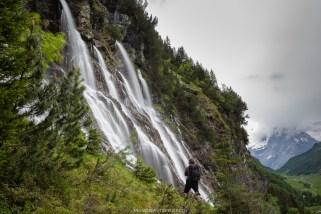 Was für ein eindrücklicher Wasserfall