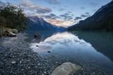 Abendstimmung am Chilkoot Lake, unweit von Haines