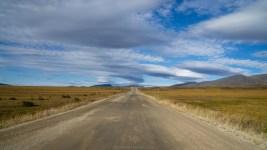 Spektakuläre Wolken am Dempster Highway