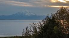 Mount Redoubt im Abendlicht