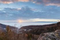 Sonnenaufgang im Jura