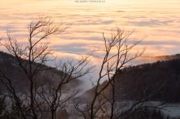 Nebelmeer über dem Mittelland