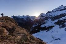 Sonnenaufgang auf dem Aabeberg
