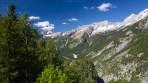 Auf den letzten Kilometer des Soška Pot eröffnen sich wunderbare Blicke in die Julischen Alpen