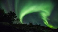 Nordlichter über Flatanger