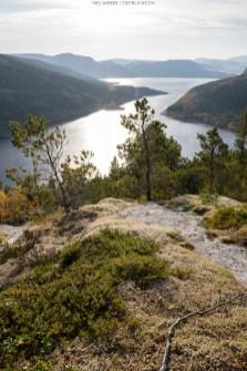 Im Aufstieg zum Storfjellet Lauvsnes