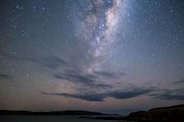 Wenn das Wetter stimmt, wartet nachts ein fantastischer Sternenhimmel!