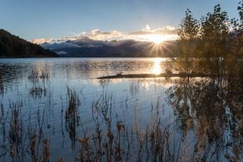 Sonnenaufgang am Lake Tekapo
