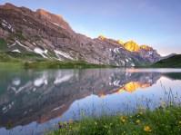 Bergfrühlig am See