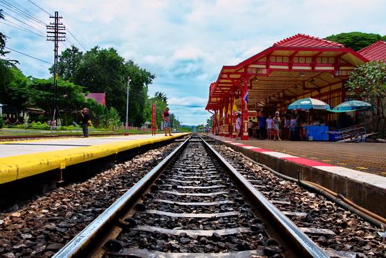 Hua Hin Train Tracks